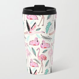 Flamingos Forever Travel Mug