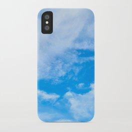 Sky Clouds iPhone Case