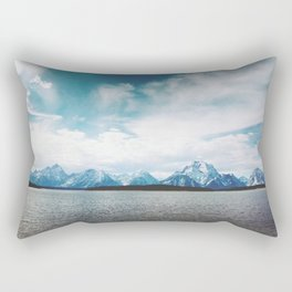 Dreaming of Mountains and Sky Rectangular Pillow