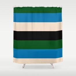 Color Stripe _003 Shower Curtain
