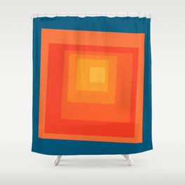 Homage to the Square Shower Curtain