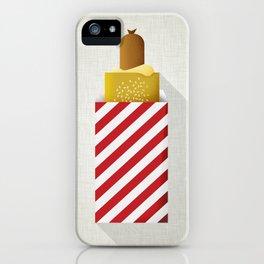 French Hotdog iPhone Case