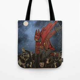 Doctor Chiroptera and the Vampire Mods of Dockside Tote Bag