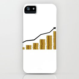 Rising Prices iPhone Case