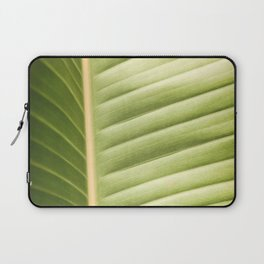 Retro Palm Leaf Abstract Laptop Sleeve