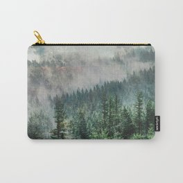 Foggy Forest Wanderlust Adventure - PNW Photography Carry-All Pouch