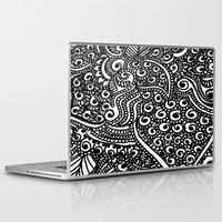 henna Laptop & iPad Skins featuring Henna me  by Designs by NN