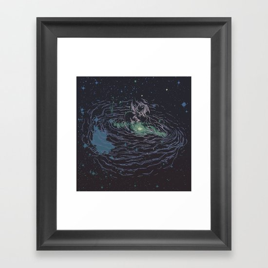 Universe of Love Framed Art Print