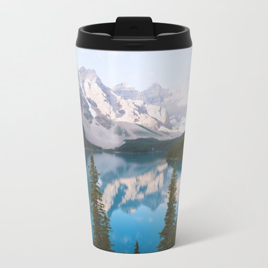 Lake Moraine Dos Metal Travel Mug