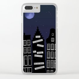 I Have an Addiction to Your Love Clear iPhone Case