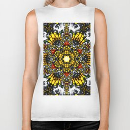The Tower Of Flowers Biker Tank