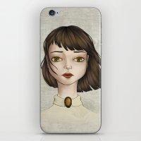 coraline iPhone & iPod Skins featuring Coraline by Gökçenur