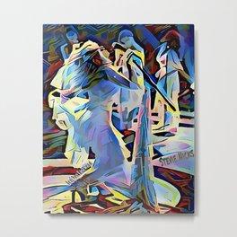 Steve Nicks - Wild Heart Passion Metal Print