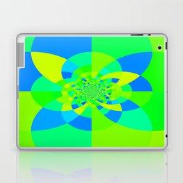 Green & Turquoise Kaleidoscope Design Laptop & iPad Skin