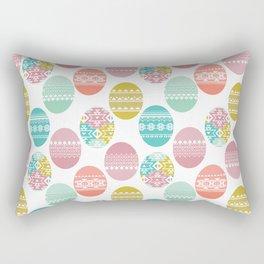 easter white background Rectangular Pillow