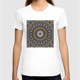 Look Into My Eyes - Abstract Kaleidoscope Art by Fluid Nature T-shirt