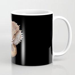 Bearded Dragon Animal Coming From Inside Coffee Mug