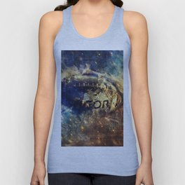 Abstract american football Unisex Tank Top