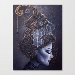 HEXY Canvas Print
