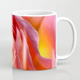 Pink Yellow Rose Flower Coffee Mug