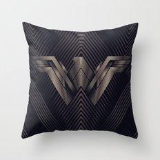 WonderWoman Logo Throw Pillow
