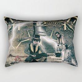 Steampunk background Rectangular Pillow