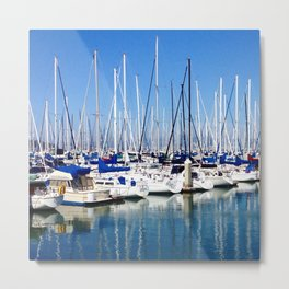 Marina Forest Metal Print