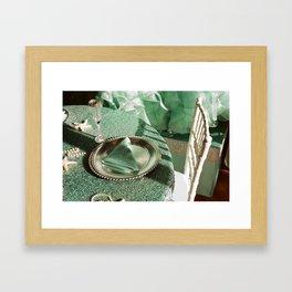 Shooting a wedding Framed Art Print