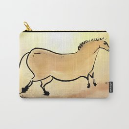Ancient horse of Lascaux Carry-All Pouch