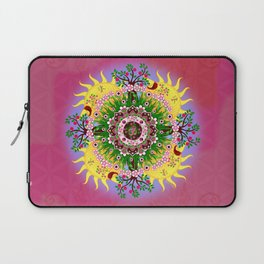 Garden Blessings Om Laptop Sleeve