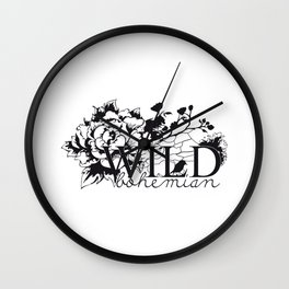 Wild bird Wall Clock