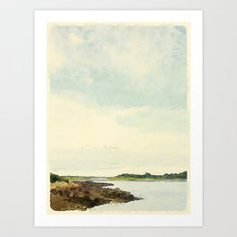 Cape Porpoise, Maine Art Print