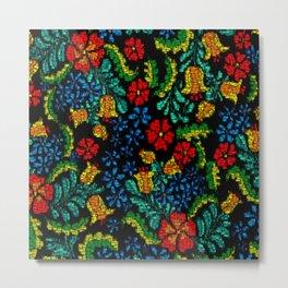MosaicArt tropic floral Metal Print