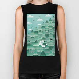 Tree Hugger (Spring & Summer version) Biker Tank