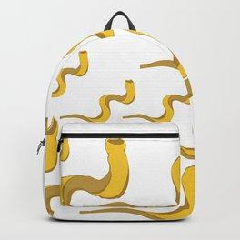 Jewish shofar yellow gold Backpack