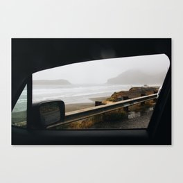Road trip along the Oregon Coast Canvas Print