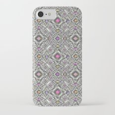 Abstract pattern with bright decorative elements . iPhone 7 Slim Case