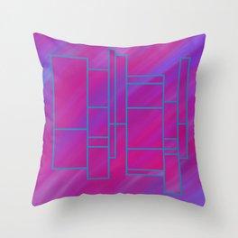 segmented (one) Throw Pillow