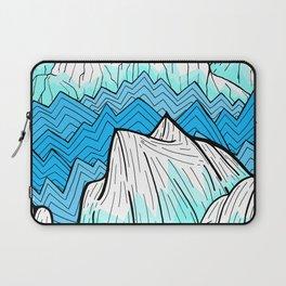 Antarctica mountains Laptop Sleeve
