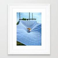bull Framed Art Prints featuring Bull by kaitluuuh