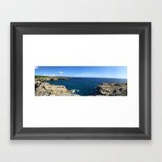 Indo Sea Framed Art Print