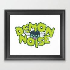 Demon Noise Framed Art Print
