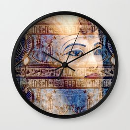 Tut Wall Clock