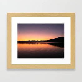 Last Breath of the Day Framed Art Print