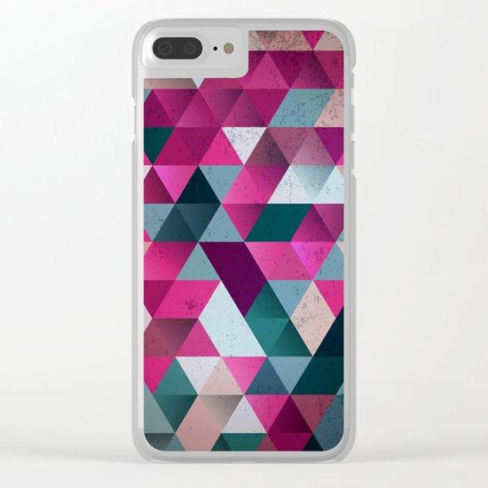 Mosaic Clear iPhone Case
