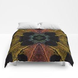 Butterfly Garden Vortex Comforters