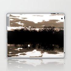 halloween sunrise Laptop & iPad Skin