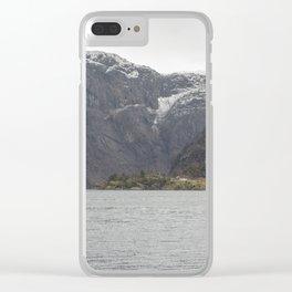 Norwegian fjords Clear iPhone Case