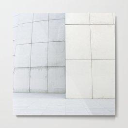 Urban Pattern 4 - Modern Minimal Architecture photography Metal Print