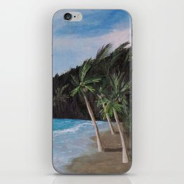 carribean beach iPhone Skin